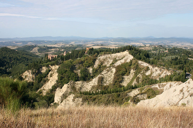 Monteoliveto and the desert of accona