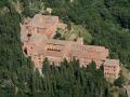 Monteoliveto und die wüste von accona