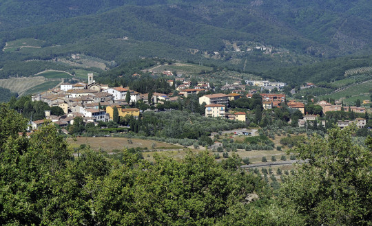 radda in chianti, its nature and surroundings