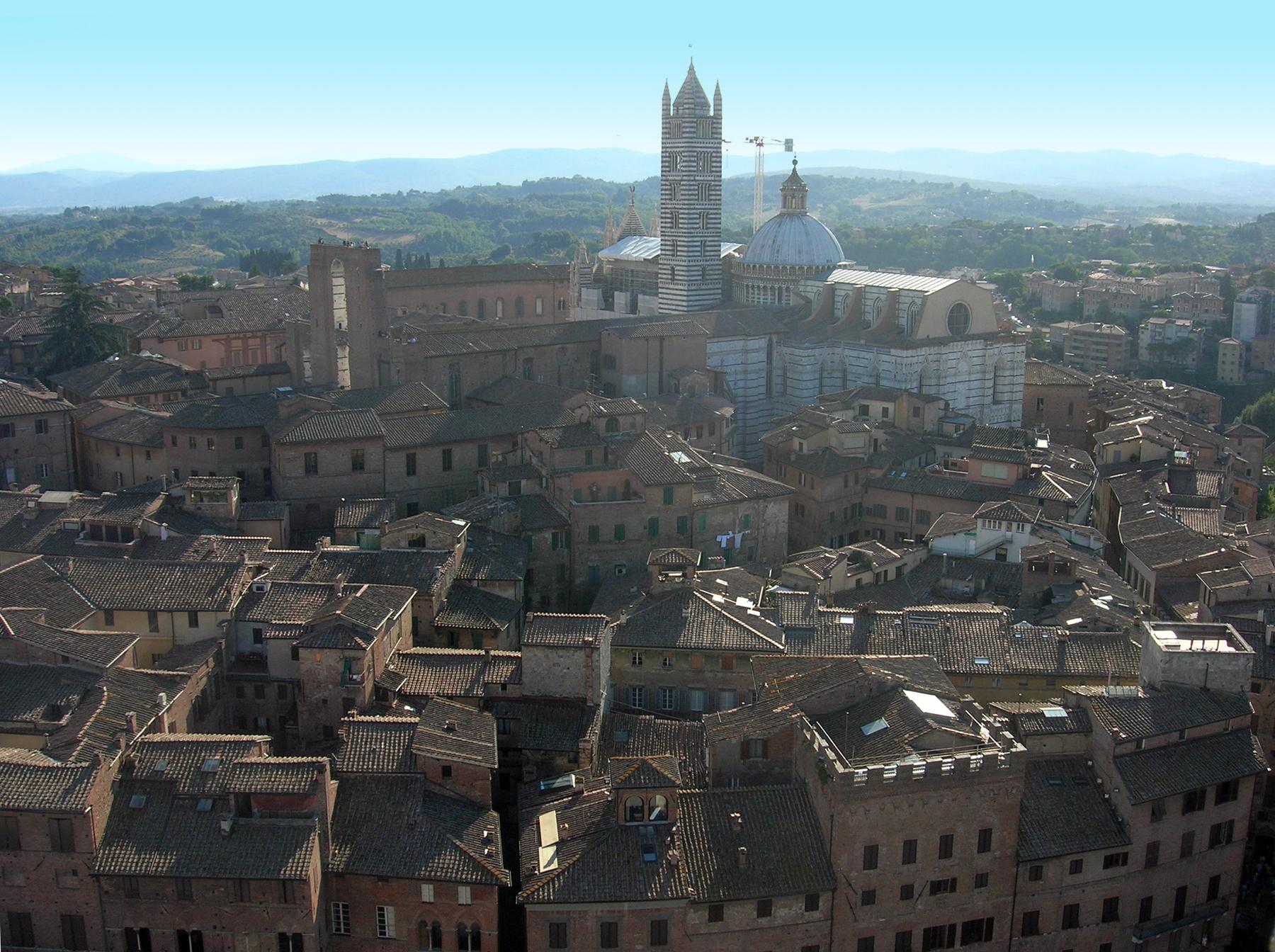 Il complesso del Duomo di Siena