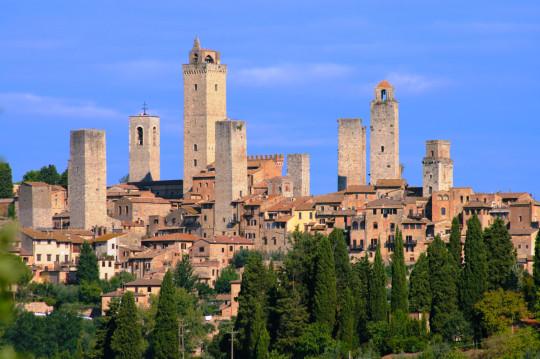 san gimignano and its towers: a manhattan skyline ante litteram